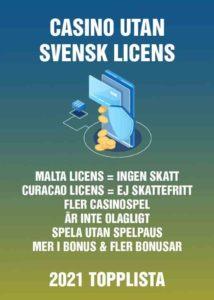 casino utan svensk licens guide